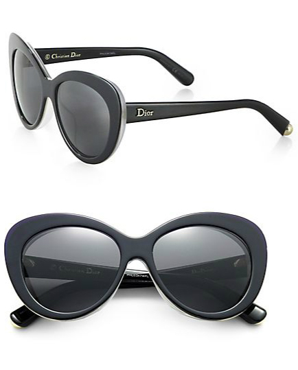 dior oversized cat eye sunglasses
