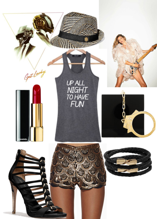 summer night going out outfit idea