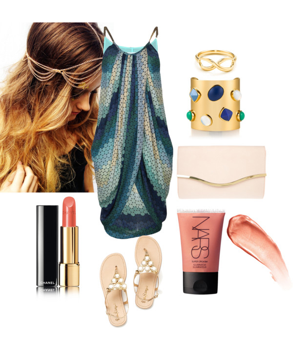 summer resort outfit idea