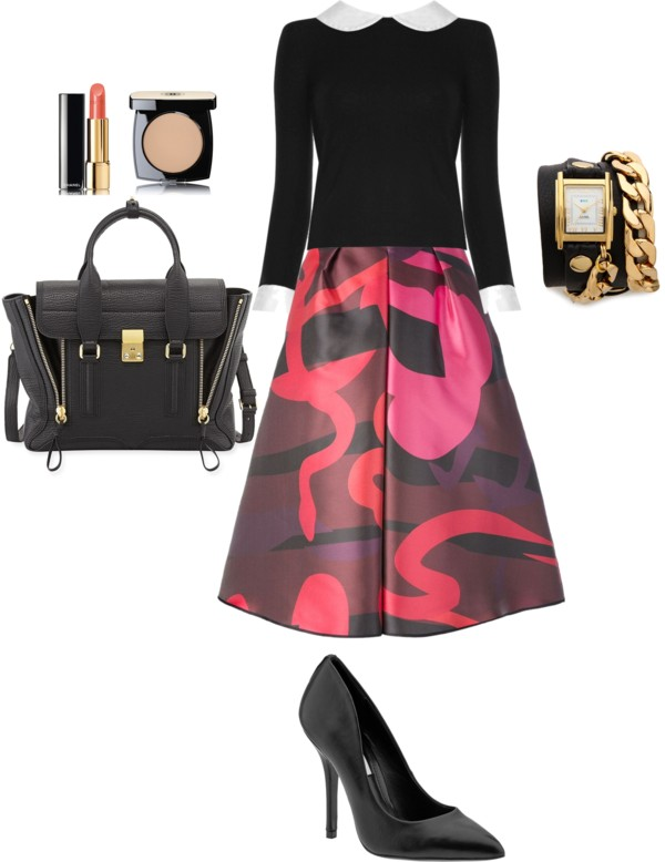 fall trends work outfit idea