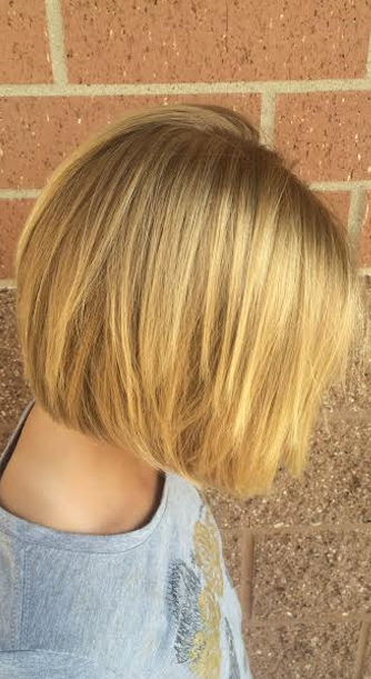 triangular bob hairstyle